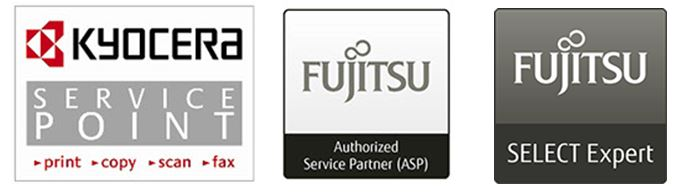 Kyocera, Fujitsu, Partner, Service, Support
